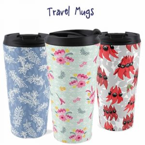 Australian designed travel mugs