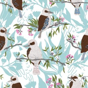 Kookaburra Fabric