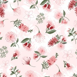 Native Floral Fabric Collection