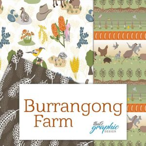 Australian Farm themed fabric collection - Australiana