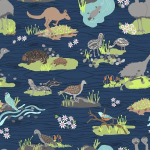 Aussie Fabric Designs - Australian animals
