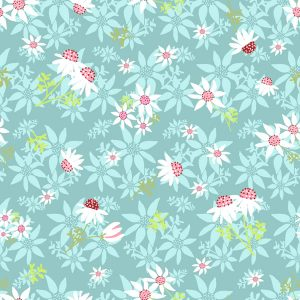 Australian Native Flannel Flower Print