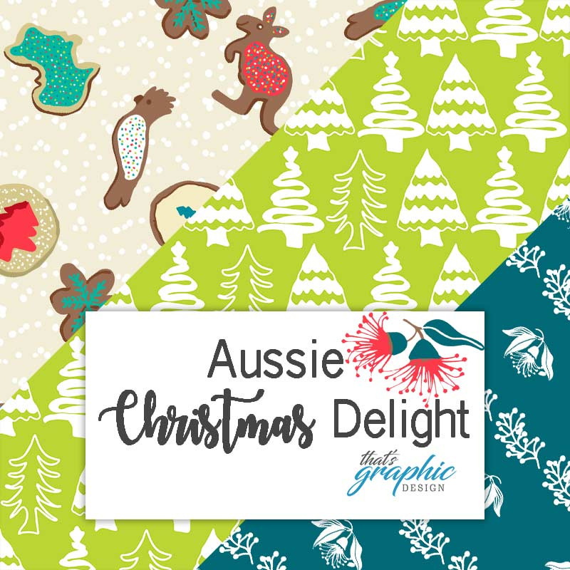 Aussie Christmas Fabric
