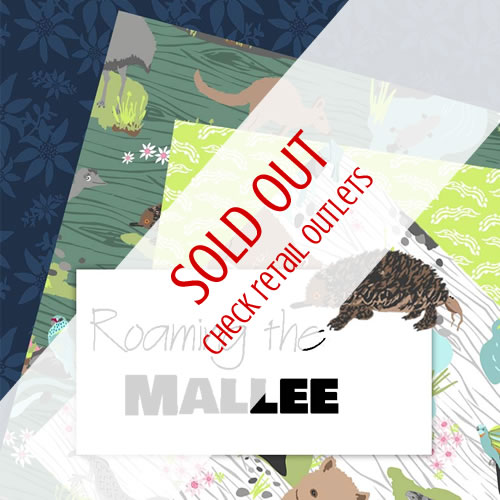 Roaming The Mallee Fabric - Annette Winter